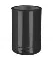 Connexion double à simple noire DW ECO Noir Ø 200 mm